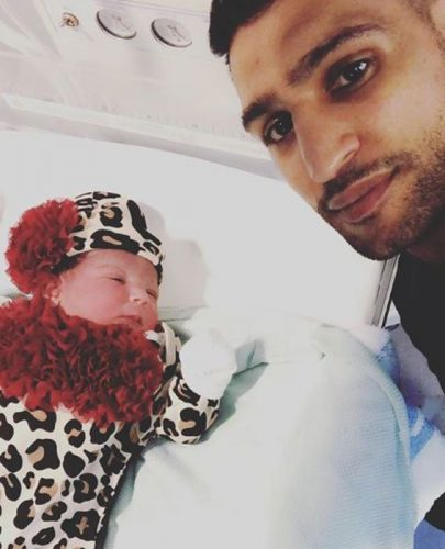 Second Baby Arrival To Amir Khan And Faryal Makhdoom
