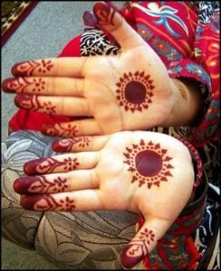 Easy Mehndi Designs 2018 for Kids
