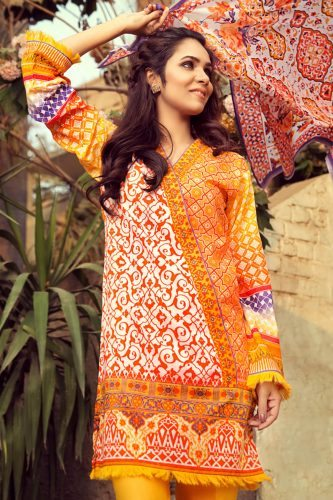 Gul Ahmed Party Wear Collection 2018 | Deikhoo