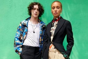 Burberry's pre-Autumn/Winter 2018 collection with Adwoa Aboah