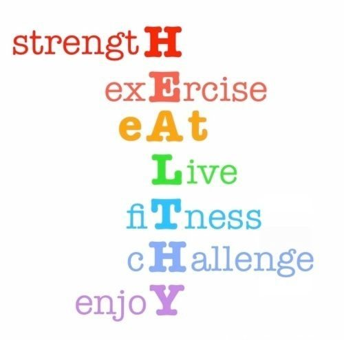 Health And Fitness Quotes Deikhoo Let The Words Speak